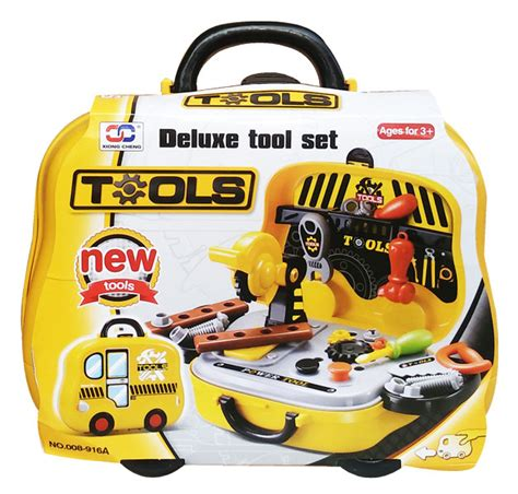 Mainan Tools Play Set Mainan Perkakas tools koper 008 916a