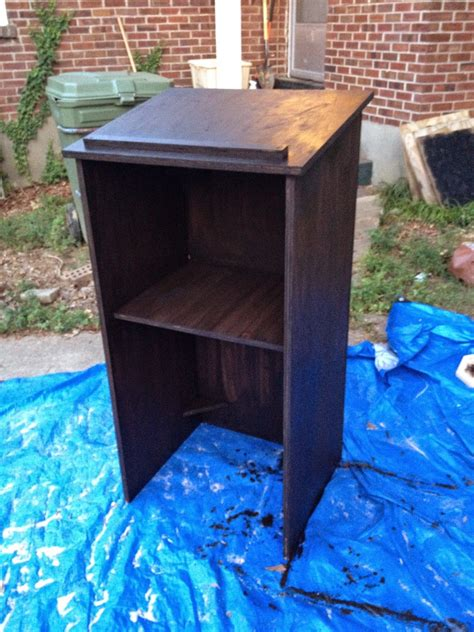 diy podium  easy  inexpensive woodworking