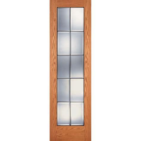 Oak Pantry Door by Feather River Doors 30 In X 80 In Pantry Woodgrain 1