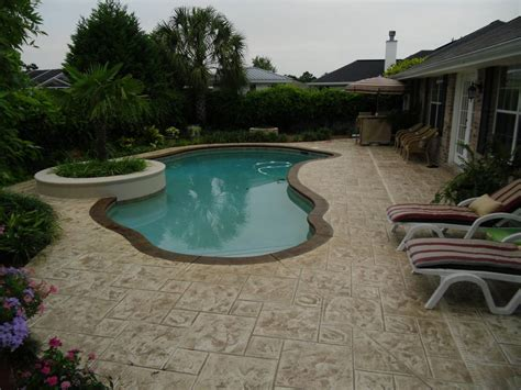 sted concrete nh ma me decorative patio pool deck walkwaynh pool coping ideas ma me best