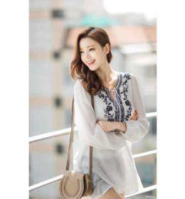 Atasan Import 158 baju dress wanita korea lucu model terbaru jual murah