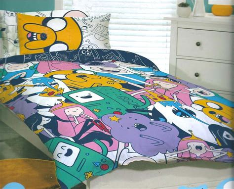 adventure time bedding adventure time jake finn queen bed quilt doona cover set