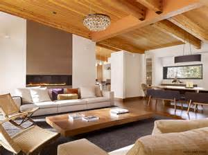 wood interior homes modern living room best interior design 22