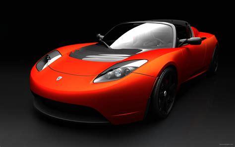 Tesla Car Wallpaper Hd by Tesla Roadster Sports Car Wallpapers Hd Wallpapers Id