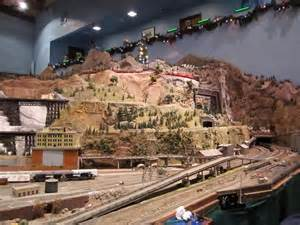 Model train sets that won t fit under the christmas tree mental