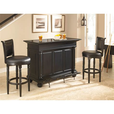 home styles st croix 3 pc bar set bar furniture home