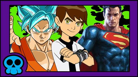 Beat Goku why ben 10 can beat goku superman and pretty much anyone