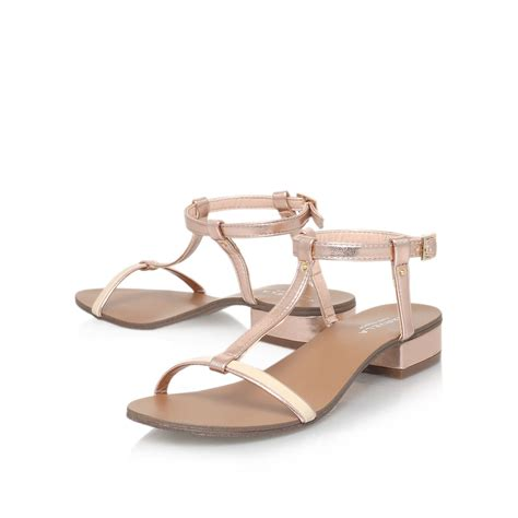 Gosh Flat With High Wedges by Gold Strappy Sandals April 2015