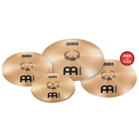 Cymbal Set meinl mcs complete cymbal set up 18 crash 171 cymbal set