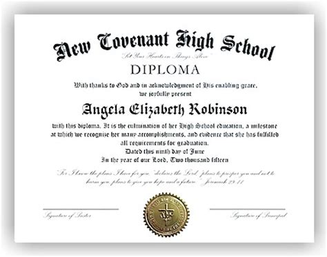 diploma templates high school diploma template images