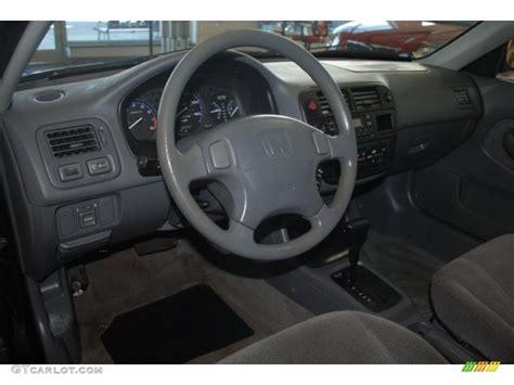 gray interior 1998 honda civic lx sedan photo 39201711