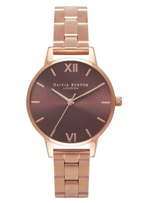 Burton Ol013 Rosegold D burton midi brown bracelet gold