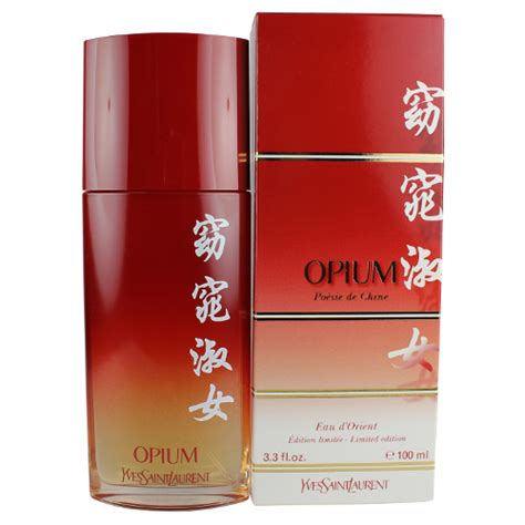 opium poesie de china by yves laurent for eau