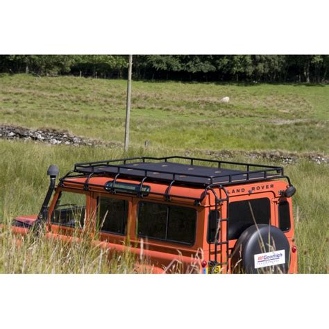 Safety Devices Roof Rack by Defender 110 Explorer Roof Rack