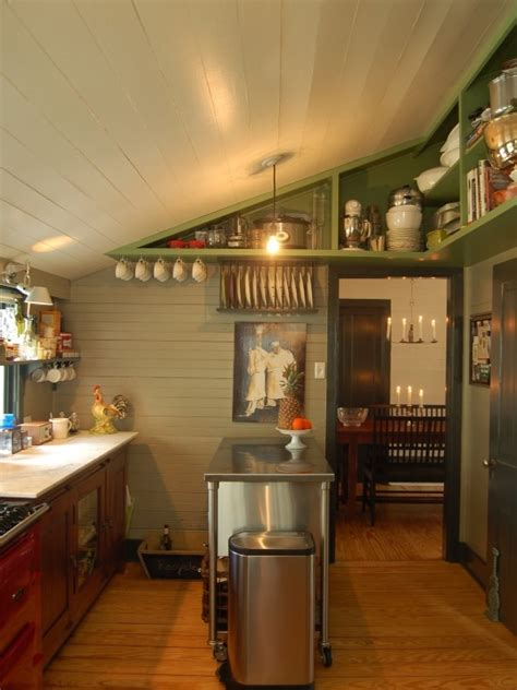 Ceiling In Kitchen by Slanted Ceiling In Kitchen Organization Tips