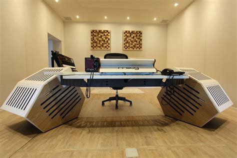 studio mixing desk furniture recording studio furniture bespoke studio mixing desk