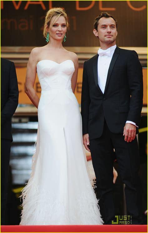 Uma Thurmans Wedding by Cannes 2011 Photos De Jude Uma Thurman