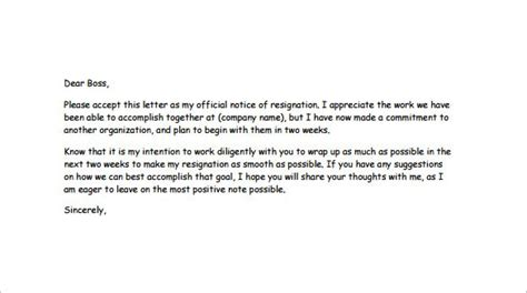 Resignation Letter Templates 14 Free Sle Exle Format Download Free Premium Templates Humorous Letter Template