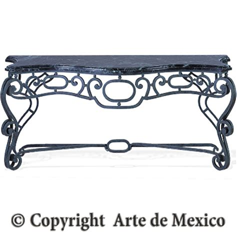 Arte De Mexico Furniture by Ic013 2 Wrought Iron Console Page