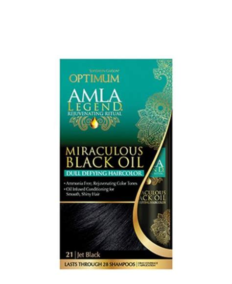 alma legend hair products optimum amla legend miraculous black oil hair color jet