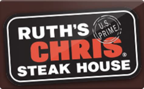 Ruth S Chris Gift Card - ruth s chris steak house gift card discount 12 00 off