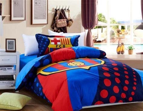desain kamar tidur bertemakan barcelona  keren rumahku