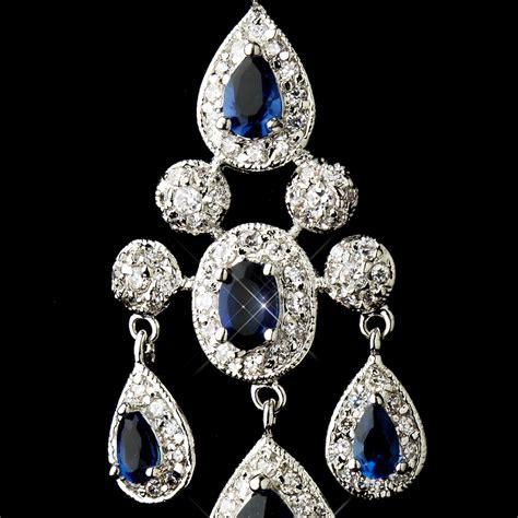 Best Blue Sapphire Chandelier Earrings Photos 2017 Blue Sapphire Chandelier Earrings