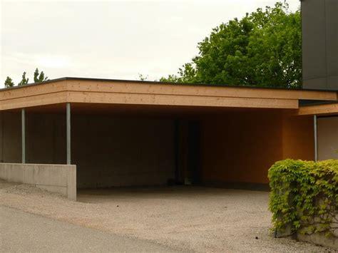 Carport An Garage 3910 by Kreativer Holzbau Carport Und Eingangs 252 Berdachung In