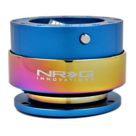 nrg steeing wheel quick release generation 2.0 blue