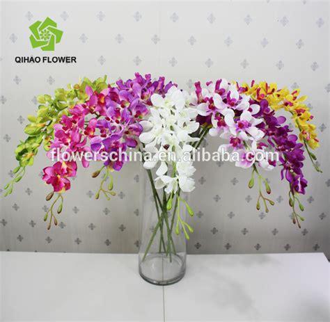 Paket Daun Bunga Artificial Daun Bunga Buatan Daun Bunga Hias 2 daun kecil tunggal anggrek bunga panjang batang bunga