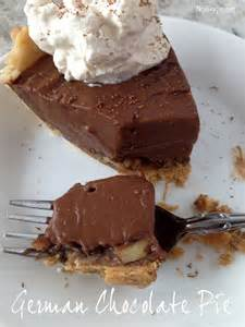 german chocolate pie recipe chocolate cakes pie recipes and pecans