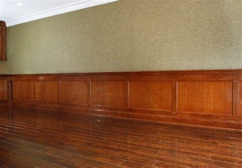 Stained Wainscoting Panels Pin By Slusher On It