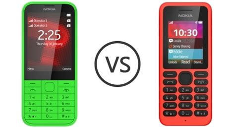 Nokia 130 Dual Sim Candybar nokia 225 dual sim vs nokia 130 phone comparison