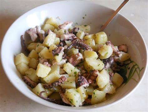 cucinare polpo morbido ricetta insalata polpo e patate come farlo morbido e gustoso