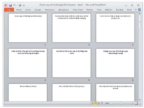 Setting Up Your Storyboard And Narration Using Microsoft Powerpoint Part 1 Storyboard Template Powerpoint