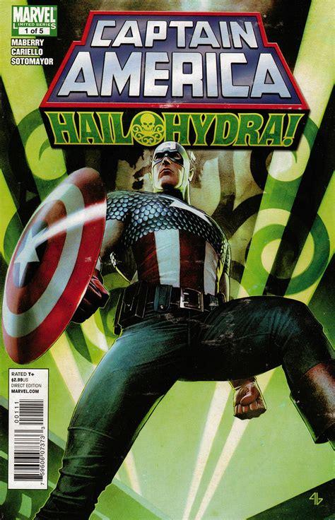 captain america hail hydra vol   marvel  fandom powered  wikia