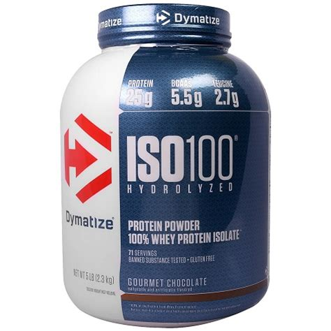 Dymatize Iso 100 Ecer 2lbs 2 Lbs Trial Size Hydrolized Whey Protein hydrolyzed whey protein gymstore