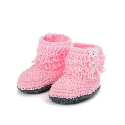 compare prices on handmade crochet baby shoes