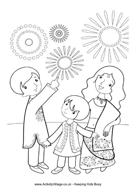 25 Unique Diwali Drawing Ideas On Pinterest How To Draw Diwali Coloring Pages