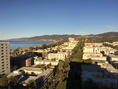 santa monica bed and breakfast breakfast view from penthouse restaurant picture of huntley santa monica beach