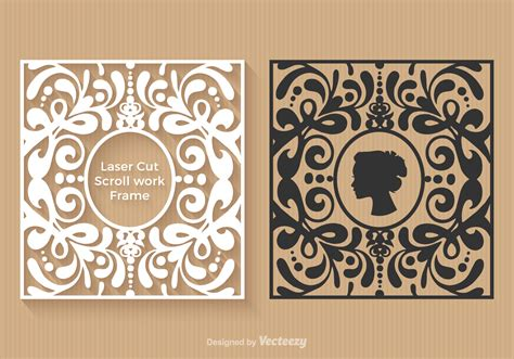 Free Laser Cut Vector Frames Download Free Vector Art Stock Graphics Images Free Laser Engraving Templates