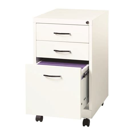 3 Drawer Filing Cabinet White by 3 Drawer Filing Cabinet In White 21028