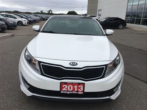 Kia Optima Premium Package 2013 Kia Optima Hybrid Ex Premium Nav Leather Sunroof