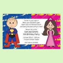 costumes birthday invitation wording festival collections