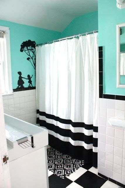 white and teal bathroom 32 rooms beautified by strategic splashes of color white