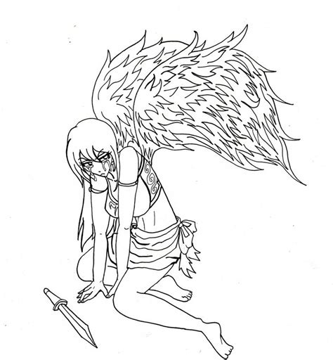 anime angel girl coloring pages anime angel girl coloring pages cartoon download 6