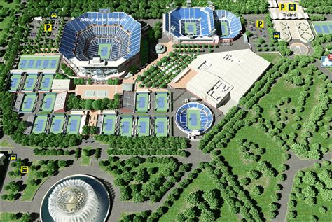 us open tennis location map us get free image about