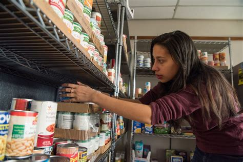 Student Food Pantry by Graduate Student Combating Hunger As Cus Food Pantry