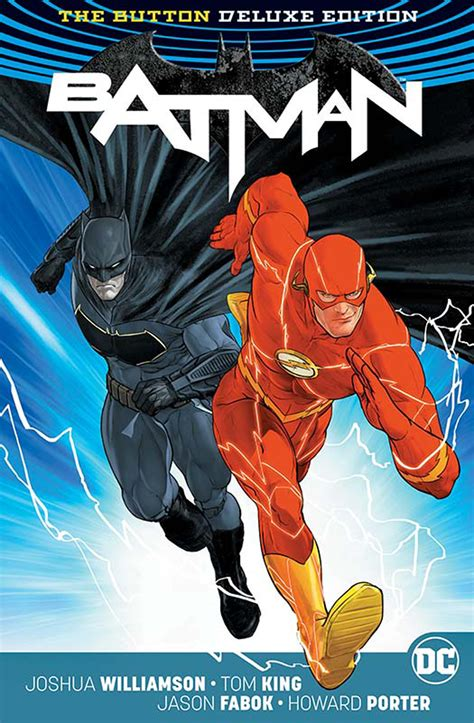 batman the flash the button b076fl1pzf jun170381 batman flash the button deluxe ed hc intl ed previews world