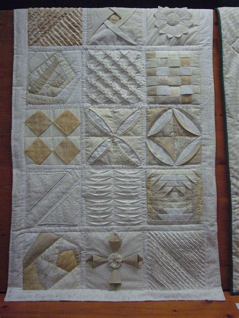 Origami Fabric Folding - 162 best images about origami quilts on
